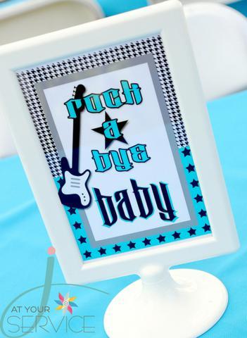 Kara S Party Ideas Rock A Bye Baby Shower Kara S Party Ideas