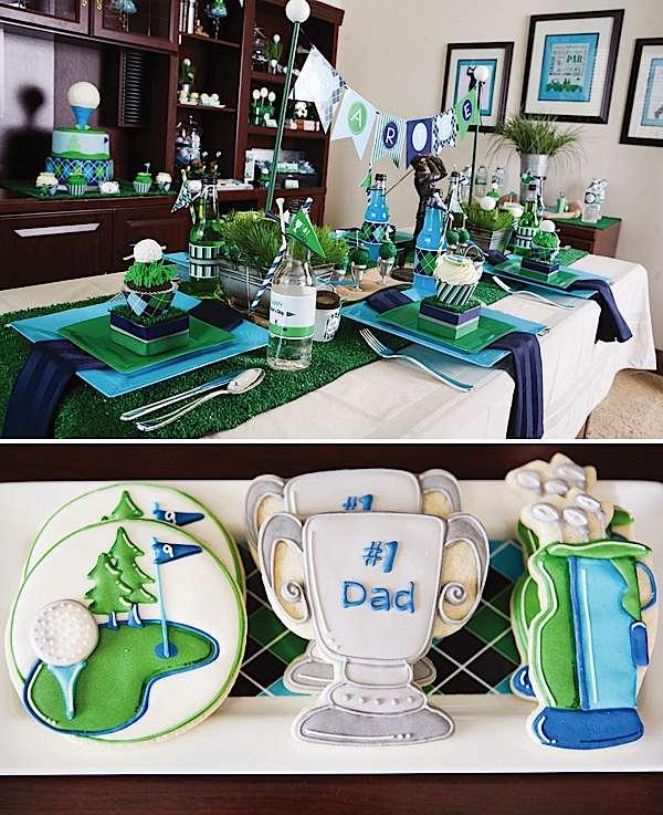 Kara S Party Ideas Father S Day Golf Par Tee Kara S