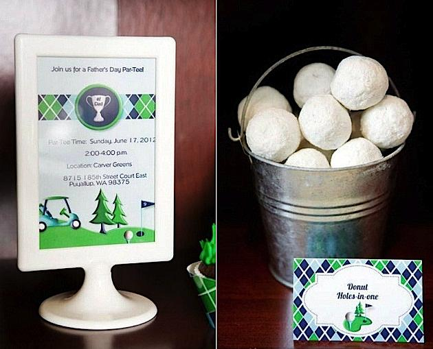 Kara S Party Ideas Father S Day Golf Par Tee Kara S