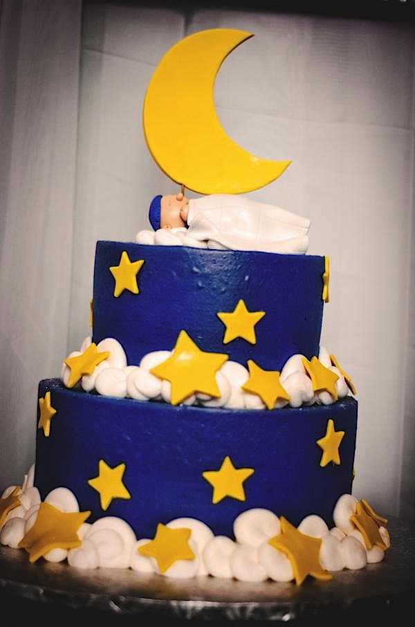 All Star Themed Baby Shower Cake