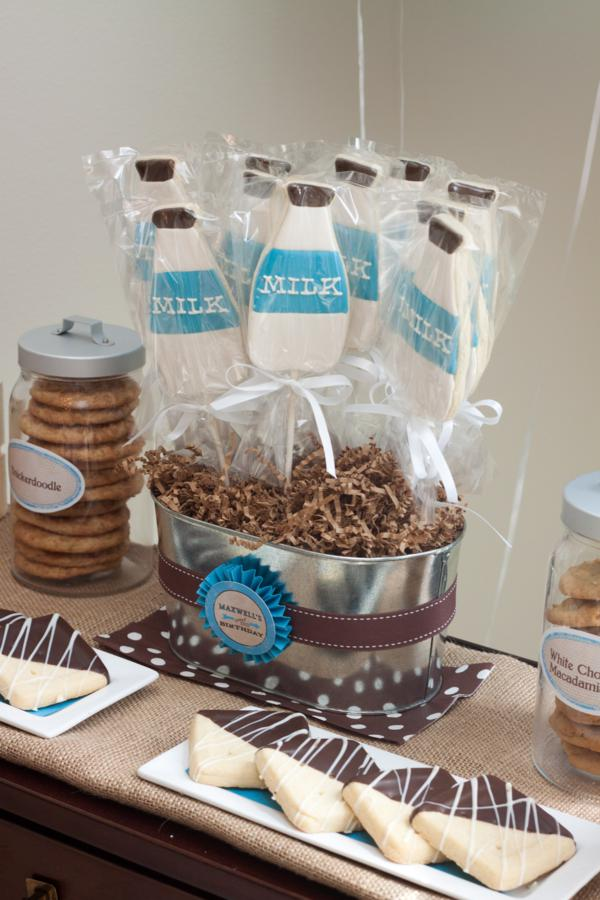 karas party ideas milk and cookies 2nd birthday party