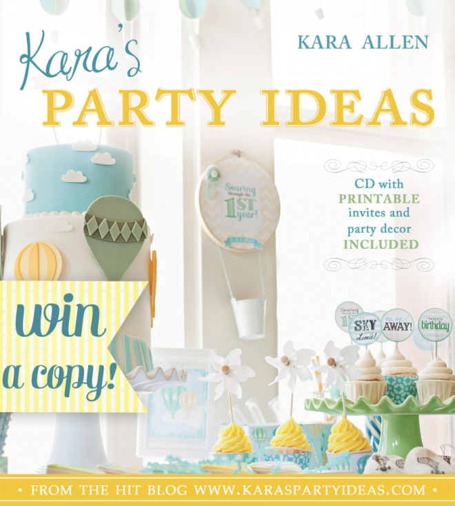 Kara's Party Ideas Kara's Party Ideas Book Giveaway All