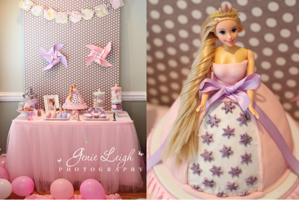 Kara S Party Ideas Disney S Tangled Rapunzel Girl Princess