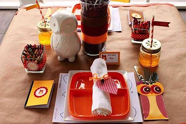 Kara's Party Ideas Rustic Owl Woodland Fall Thanksgiving