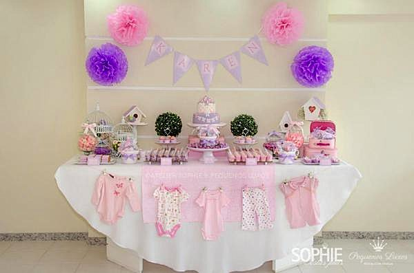 Kara S Party Ideas Pink Lilac Purple Butterfly Flowers