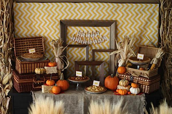 Fall Themed HouseWarming Party - The Deets - The Foley Fam