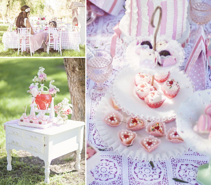 Kara's Party Ideas Shabby Chic Mommy Me Girl Outdoor