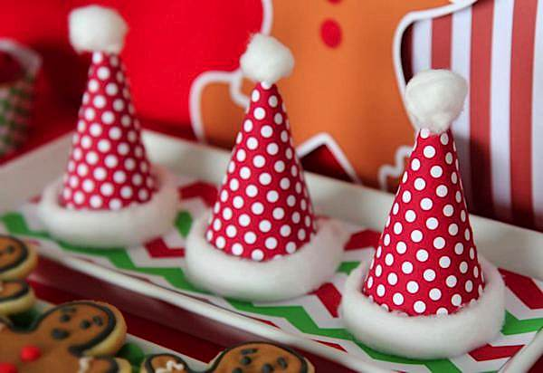 Christmas Themed 1st Birthday Party.Kara S Party Ideas Christmas Sweet Shop Girl Boy 1st Birthday Party