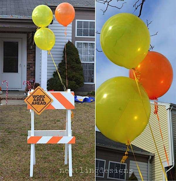Kara S Party Ideas Construction Truck Big Rig Boy Birthday