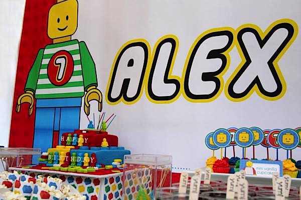Karas Party Ideas Lego Blocks Boy 7th Birthday Party Planning Ideas
