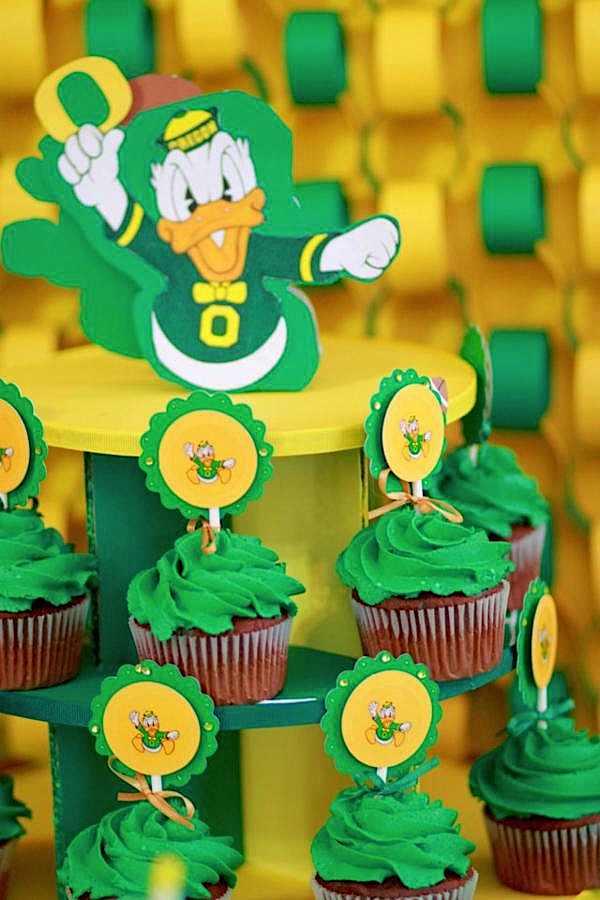Kara S Party Ideas Oregon Ducks Football Sports Boy