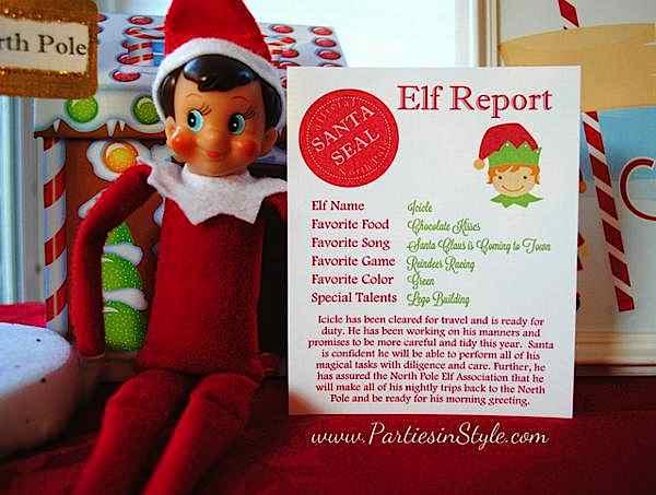 Kara S Party Ideas Elf On The Shelf North Pole Christmas