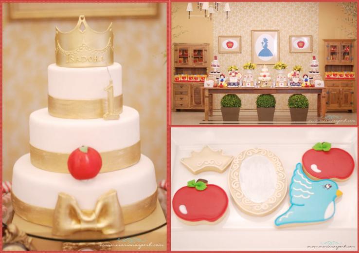 Kara S Party Ideas Snow White Princess Apple Girl 1st