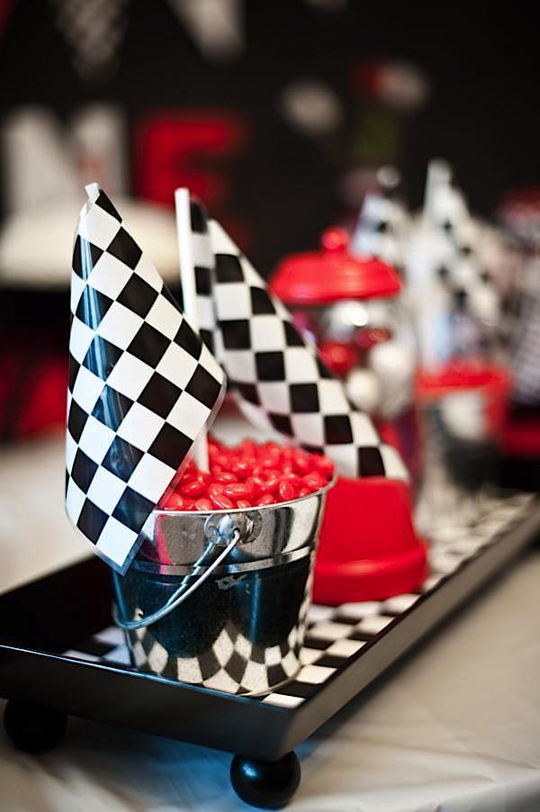 Kara S Party Ideas Race Car Cars Boy Racing Diner 50 S 1st