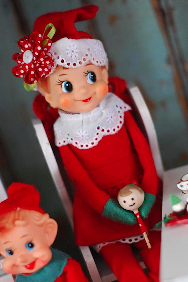 Kara S Party Ideas Elf On The Shelf Girl Boy Christmas
