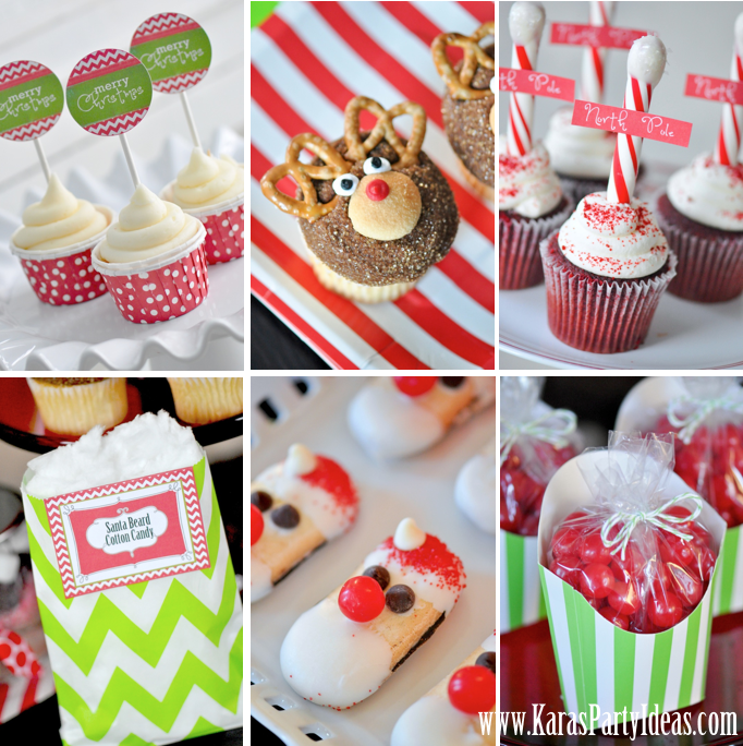 holiday party ideas kara s ideas free printables modern amp festive 12424