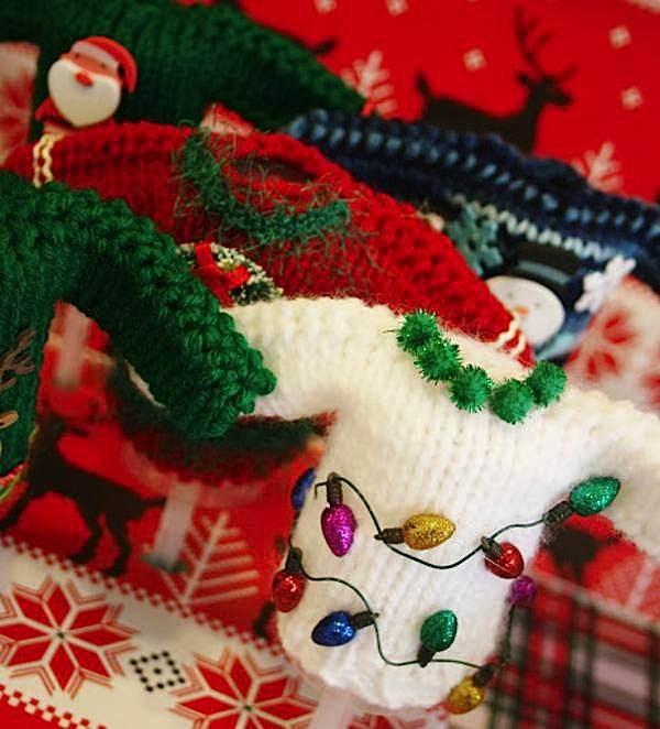 Christmas Party Themes For Adults: Kara's Party Ideas Ugly Sweater Mustache Adult Christmas