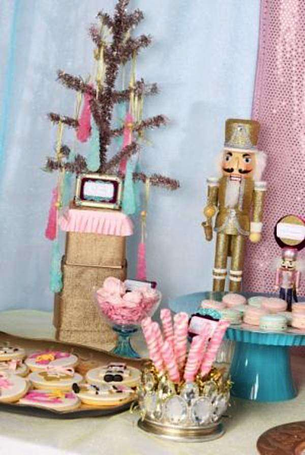 Kara S Party Ideas Nutcracker Ballet Candy Glittery
