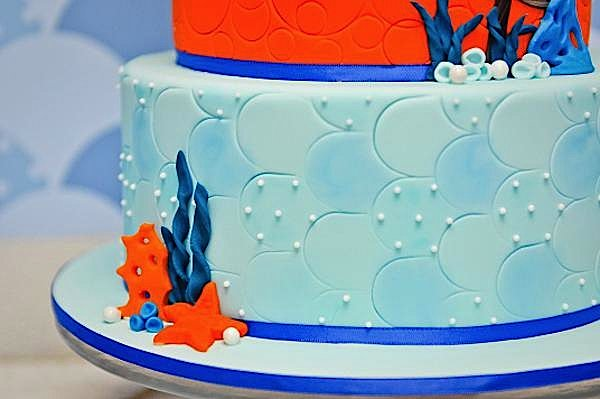 kara u0026 39 s party ideas under the sea fish ocean boy 4th