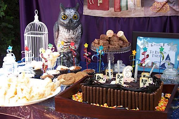 Kara S Party Ideas Harry Potter Wizard Witch Magic 6th