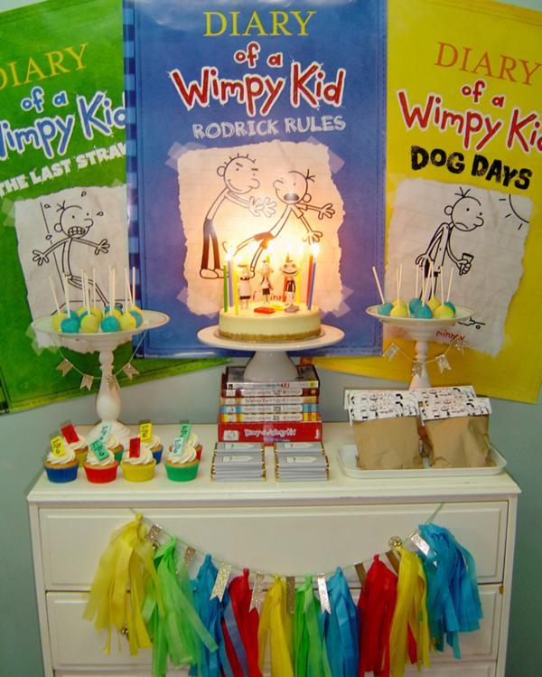 Kara S Party Ideas Diary Of A Wimpy Kid Boy Girl 9th