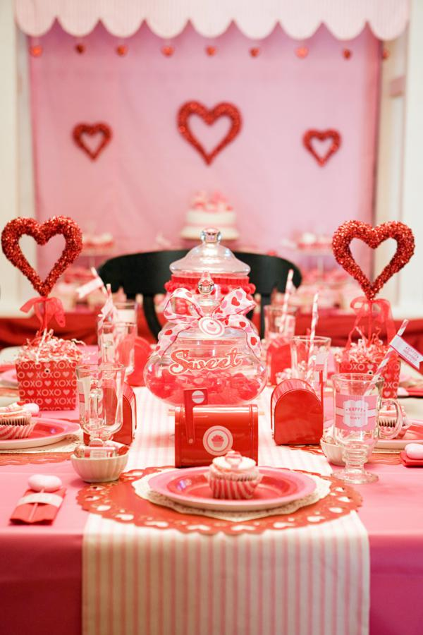 Kara S Party Ideas Sweet Valentine S Day Girl Boy Party