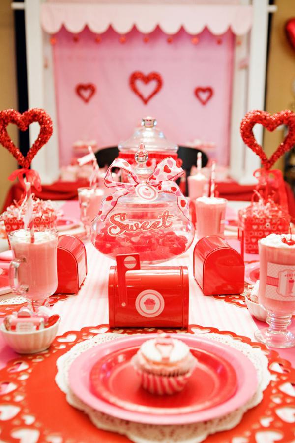 Kara S Party Ideas Sweet Valentine S Day Girl Boy Party