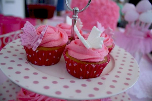 Kara S Party Ideas Fairy Girl Pink 1st Birthday Party