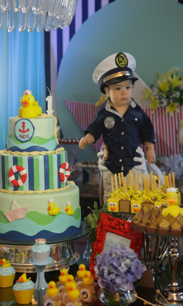 Kara's Party Ideas Sailor Duck Boy Nautical Ducky 1st ...