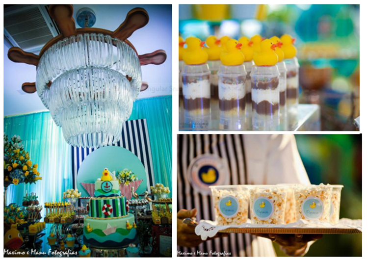 Karas Party Ideas Sailor Duck Boy Nautical Ducky 1st Birthday