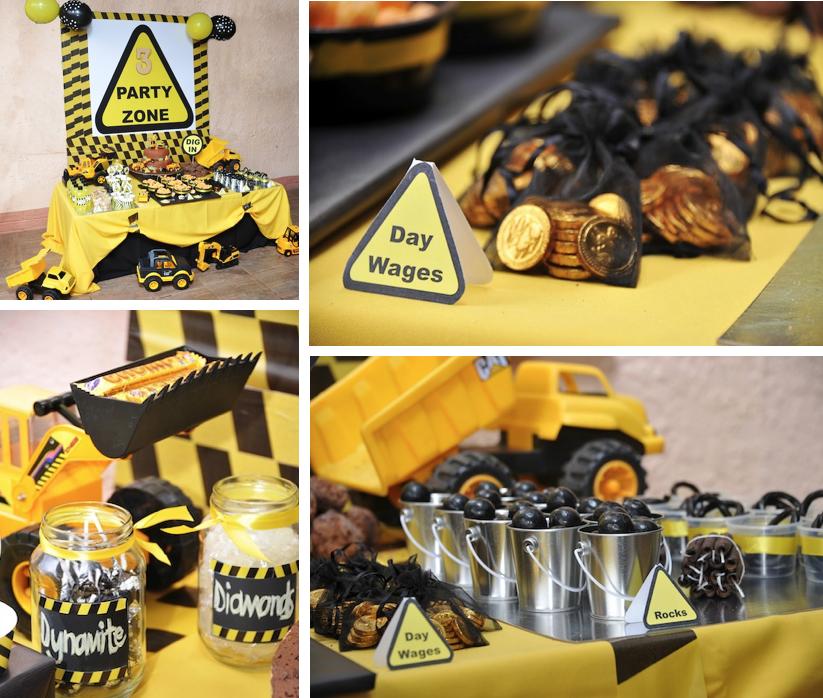 Mining Cake Ideas