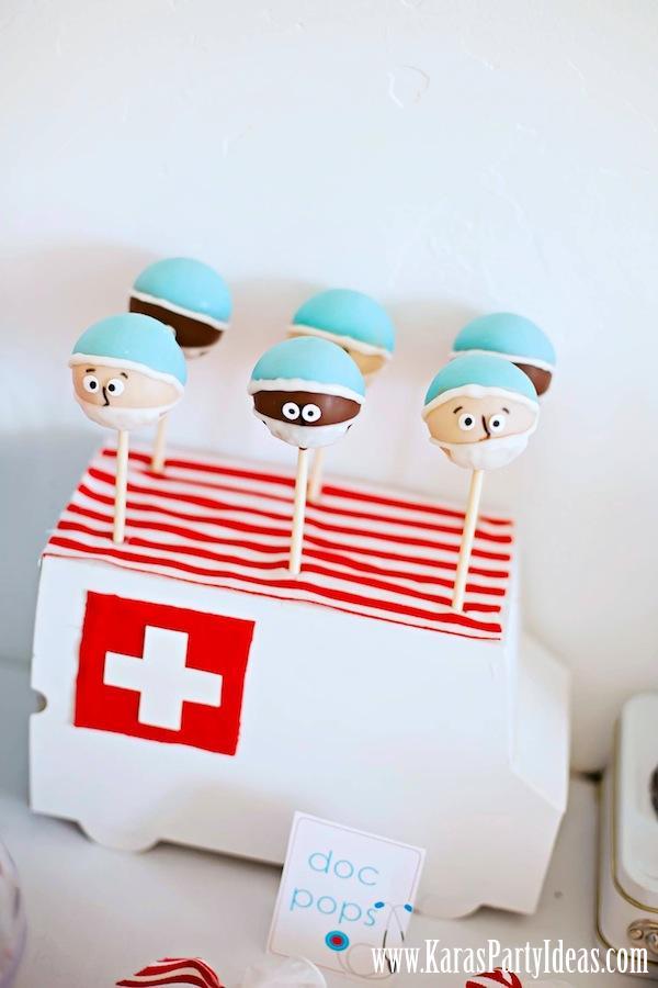 Nurse Themed Cake Pops