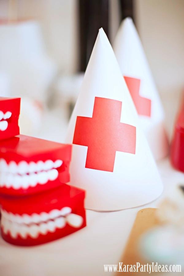 Kara S Party Ideas Doctor Nurse Themed Birthday Or