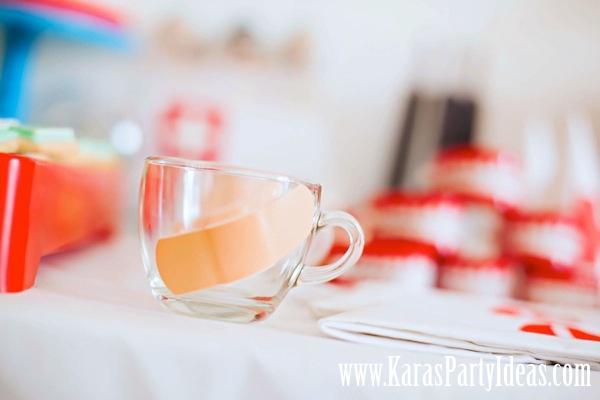 Kara S Party Ideas Doctor Nurse Themed Birthday Party