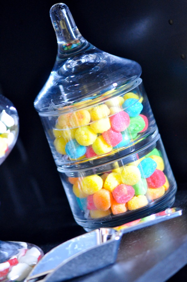 Kara S Party Ideas Neon Glow In The Dark Teen Birthday