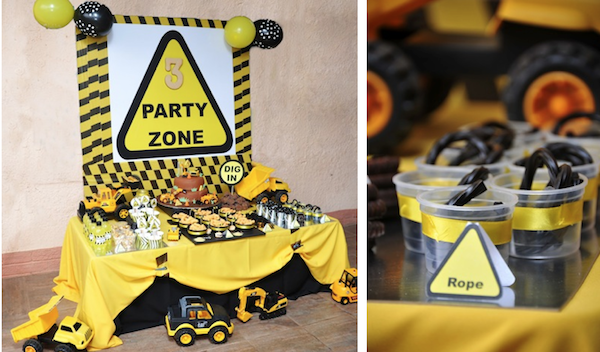 Engineering Party Ideas : Kara s party ideas mining construction truck boy rd