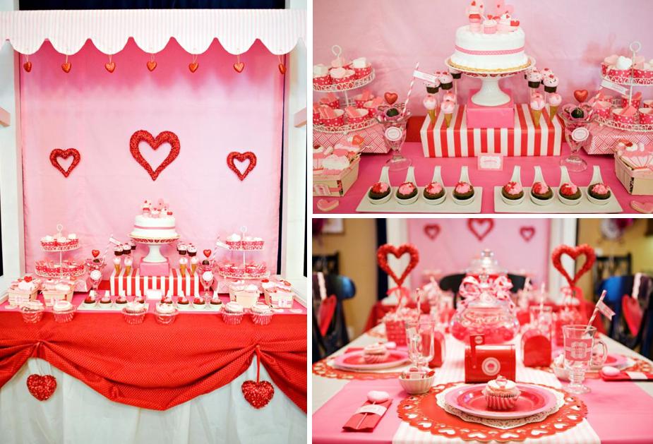 Kara\'s Party Ideas Sweet Valentine\'s Day Girl Boy Party Planning Ideas
