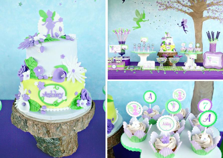 Tinkerbell Wedding Cake