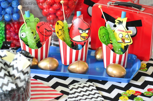 Karas Party Ideas Angry Birds Themed Birthday Planning