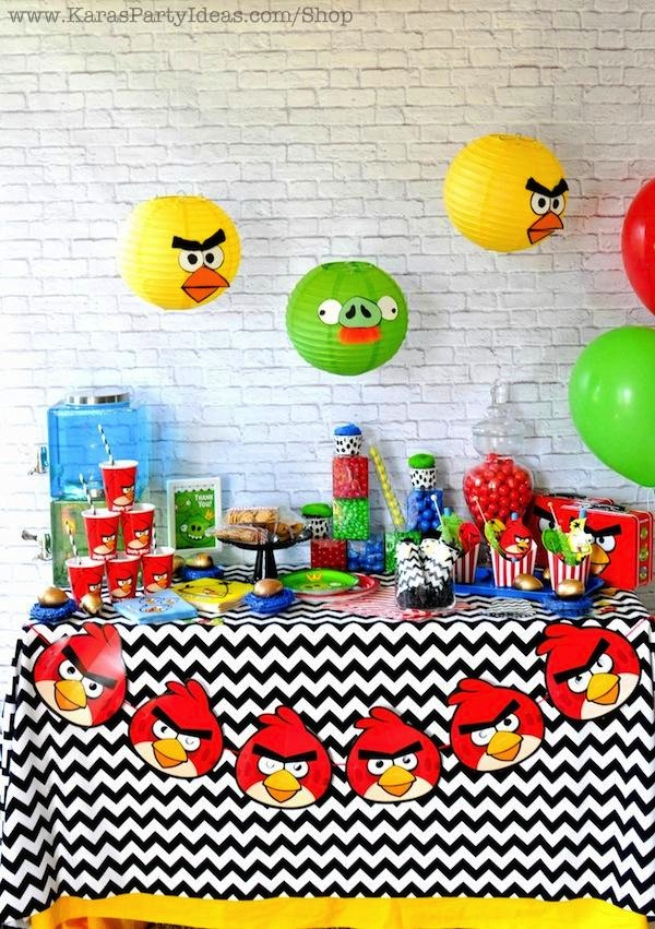 Kara S Party Ideas Angry Birds Themed Birthday Party Planning Ideas