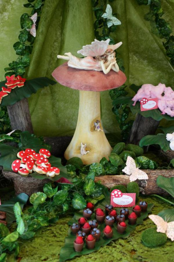 Kara S Party Ideas Enchanted Forest Woodland Fairy Girl