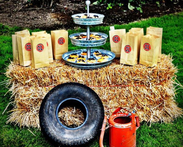 Fine Karas Party Ideas Dukes Of Hazzard Vintage Car Farm Birthday Personalised Birthday Cards Arneslily Jamesorg