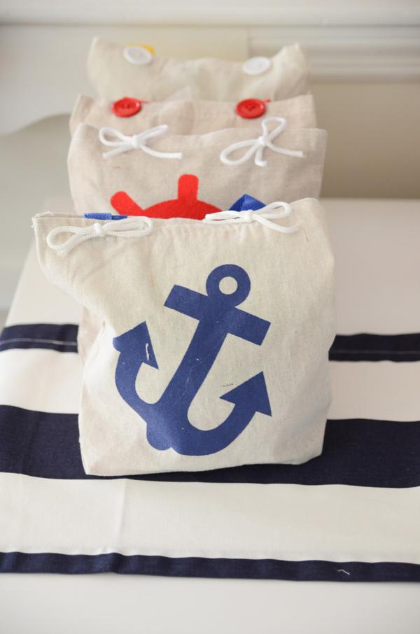Kara S Party Ideas Nautical Sailor Boat Boy 1st Birthday