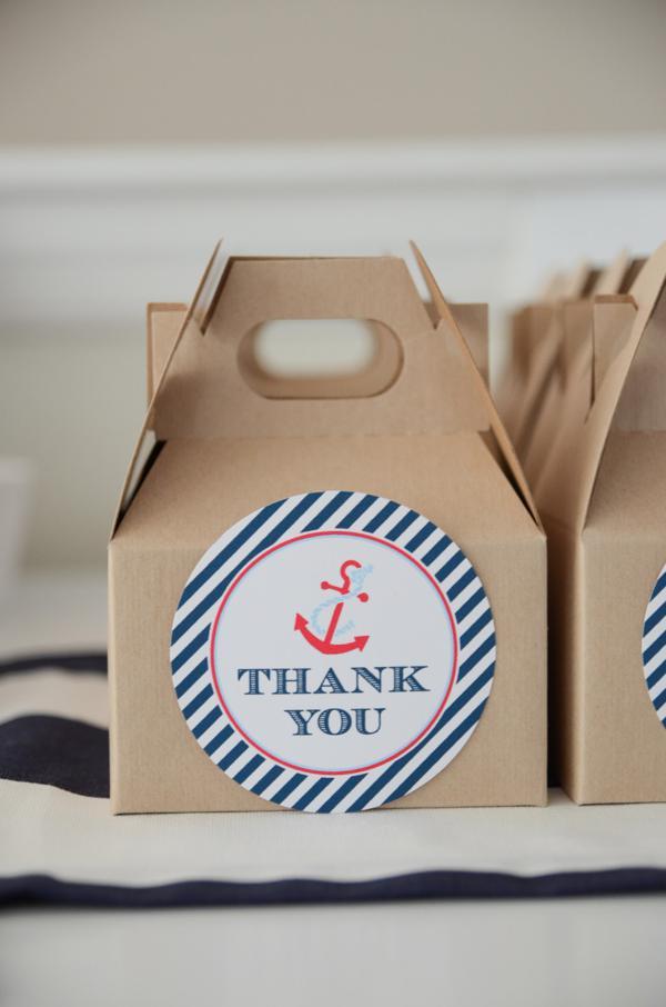 Kara's Party Ideas Nautical Sailor Boat Boy 1st Birthday ...