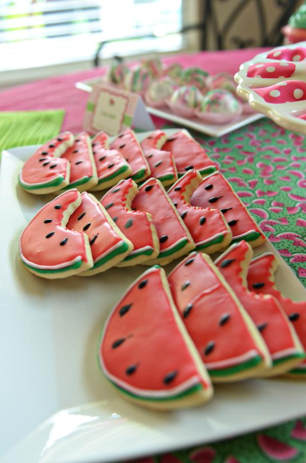 "911f54ef4 This is what Heather said about the party– ""I just adore this watermelon  theme first birthday ..."