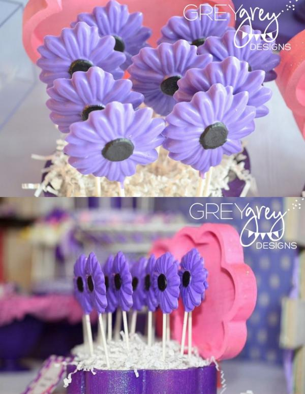 Karas Party Ideas Disney Daisy Duck Purple Girl 2nd Birthday