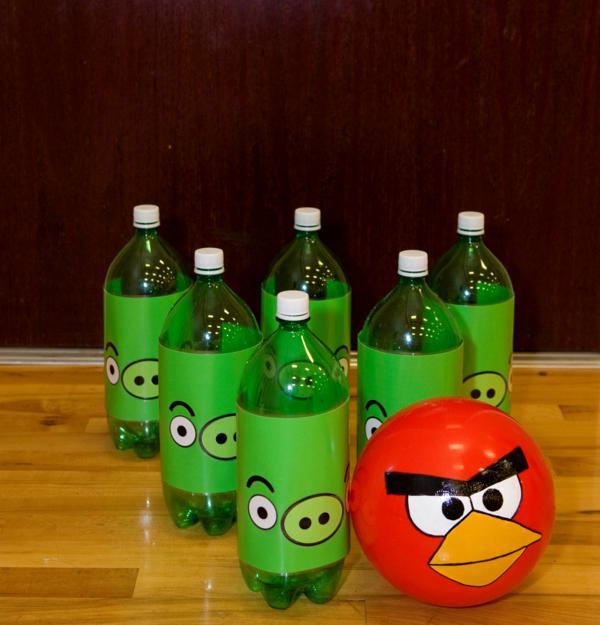 Kara S Party Ideas Angry Birds Boy Video Game Birthday