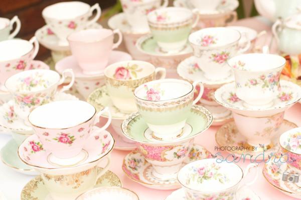Kara S Party Ideas Shabby Chic Vintage High Tea Party Bridal Shower
