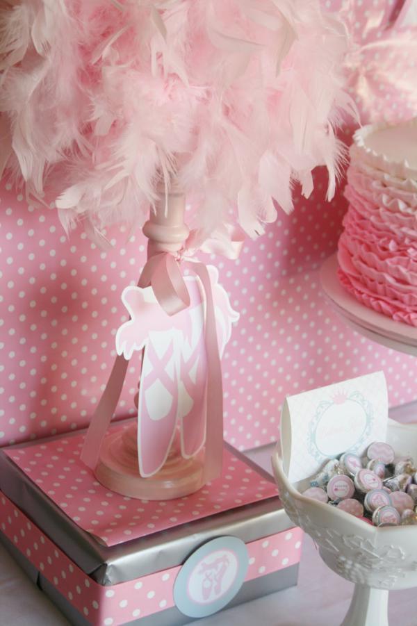 Cake Table For Girl Baby Shower