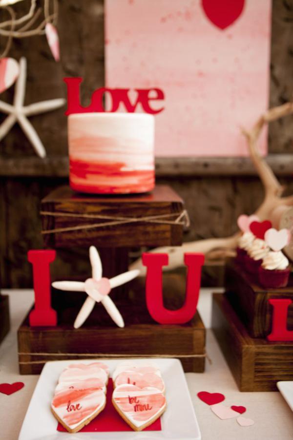 Kara S Party Ideas Love At The Beach Valentine Engagement Photo
